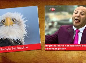 Beşiktaş-Fenerbahçe capsleri
