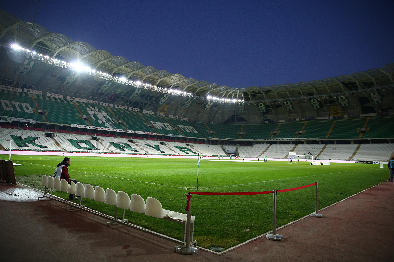 Atiker Konyaspor - Trabzonspor (STSL 22. hafta)