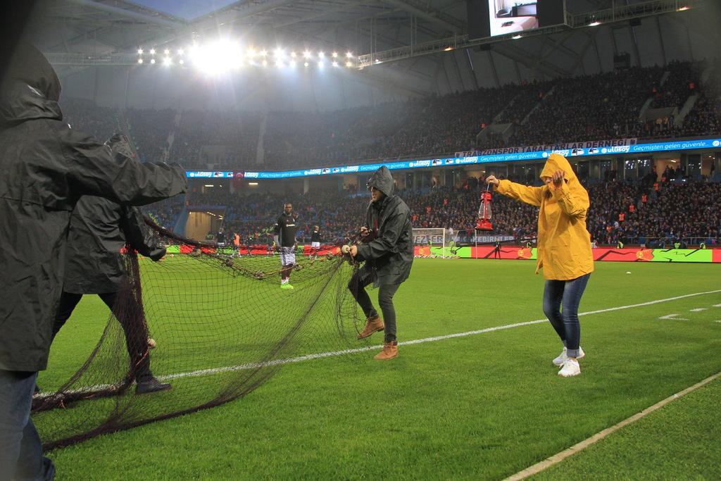 Trabzonspor'dan muhteşem koreografi!