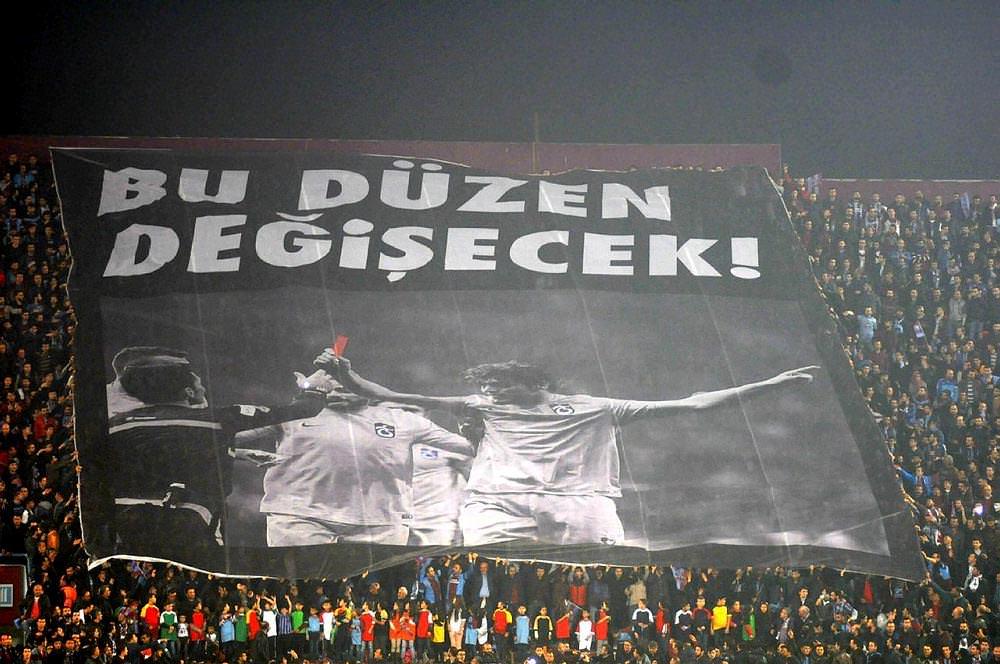 Trabzonspor'dan tarihi protesto