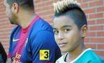Barcelona'nın 9 yaşındaki yeni transferi Zico Jr.