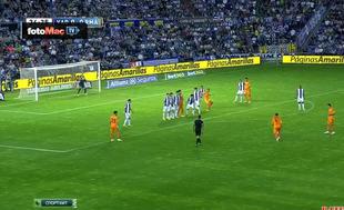 Ramos'tan nefis frikik golü