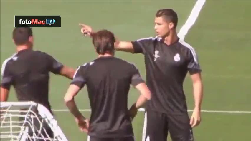 Ronaldo'dan Rodriguez'e ayar