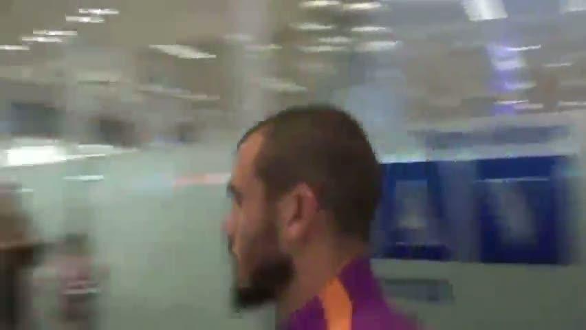 ��te Semih'in havaalan�nda ya�ad��� gergin anlar