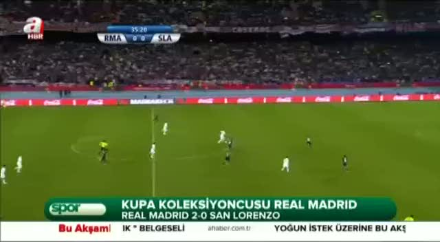 Real Madrid 2 - 0 San Lorenzo