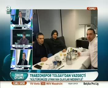 Trabzonspor'dan Tolgay'a rest