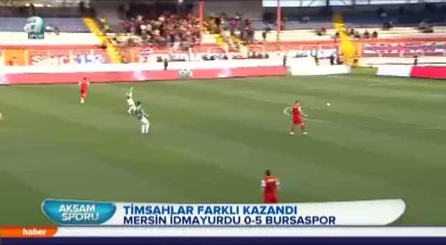 Bursaspor'dan gol �ov