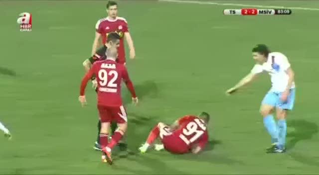 Trabzonspor bu karta isyan etti
