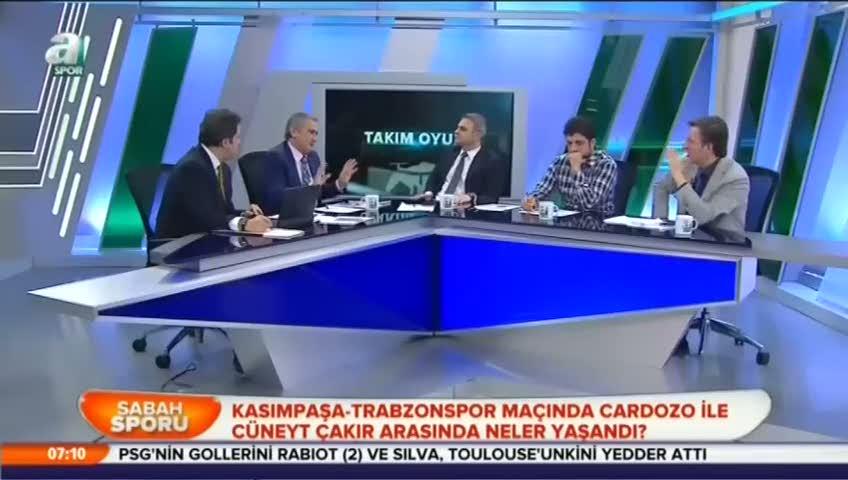Mustafa �ulcu, Cardozo'nun pozisyonunu yorumlad�