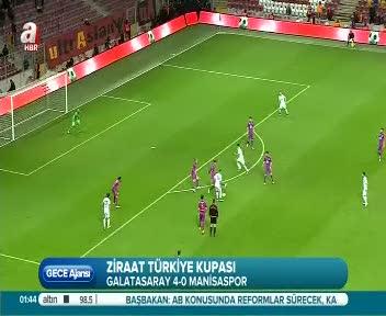 Galatasaray 4-0 Manisaspor (Ma� �zeti)