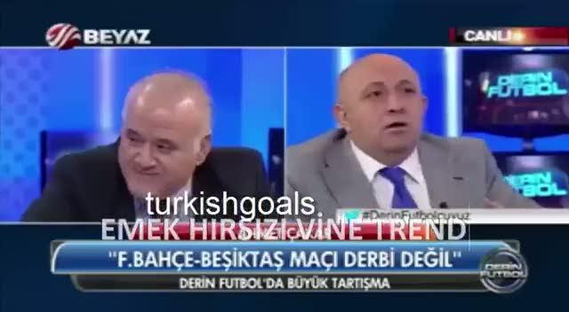 Sinan Engin, Ahmet �akar'a bardak f�rlatt�