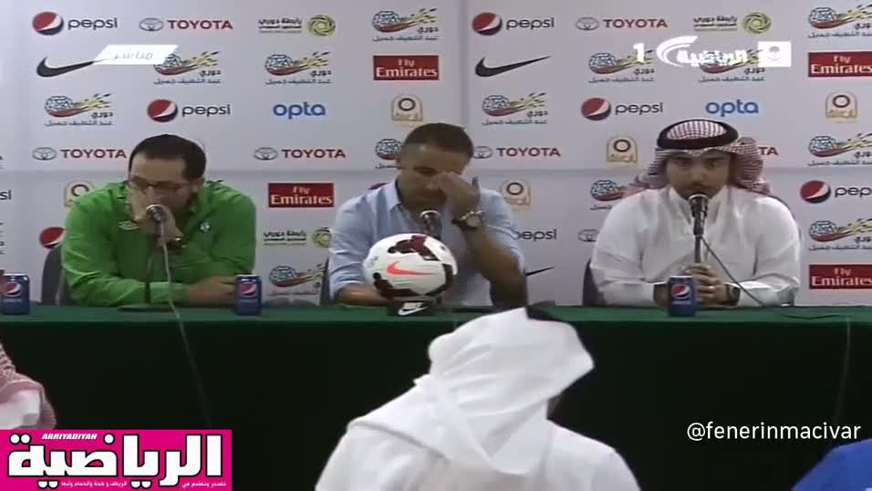 Vitor Pereira'n�n gergin bas�n toplant�s�