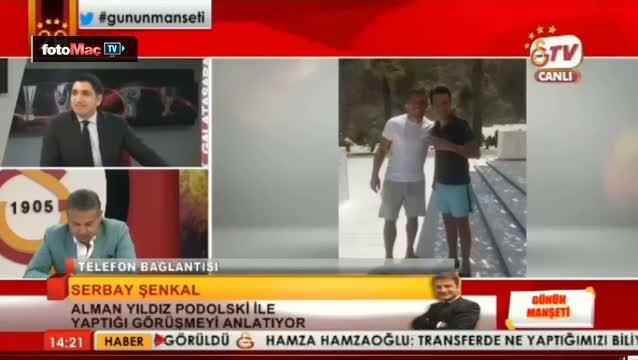 Podolski'den fla� G.Saray a��klamas�