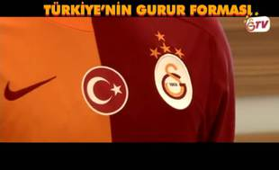 ��te Galatasaray'�n yeni sezon forma tan�t�m�