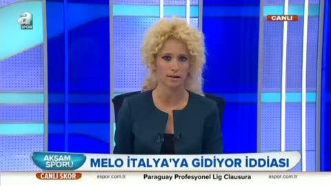 'Melo Inter ile anla�t�'
