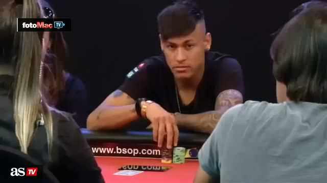 """""""Poker surat""""l� Neymar"""