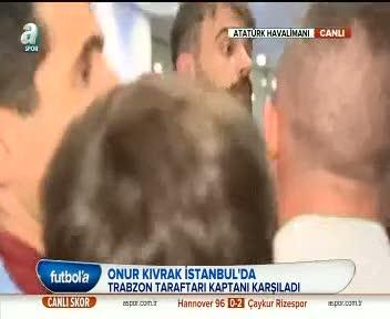 Onur: Baki olan Trabzonspor