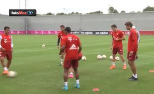 Vidal ilk antrenman�nda rezil oldu