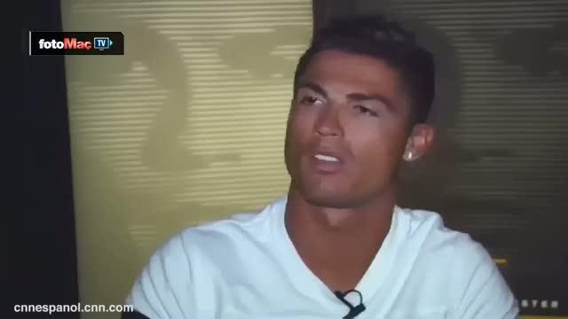 Ronaldo'dan soruya k�f�rl� yan�t!