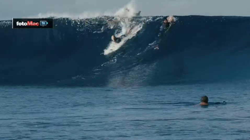 Pasifik Okyanusu'nda motorla s�rf