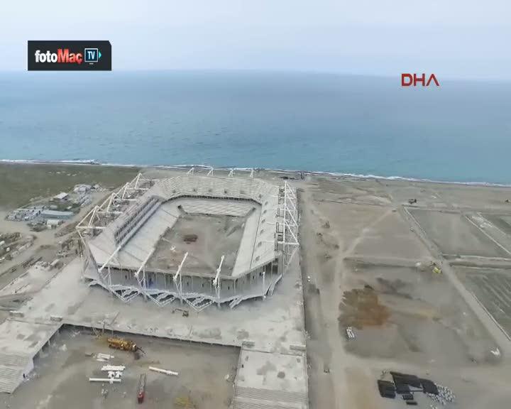 Traboznspor'un yeni stad� bitmek �zere