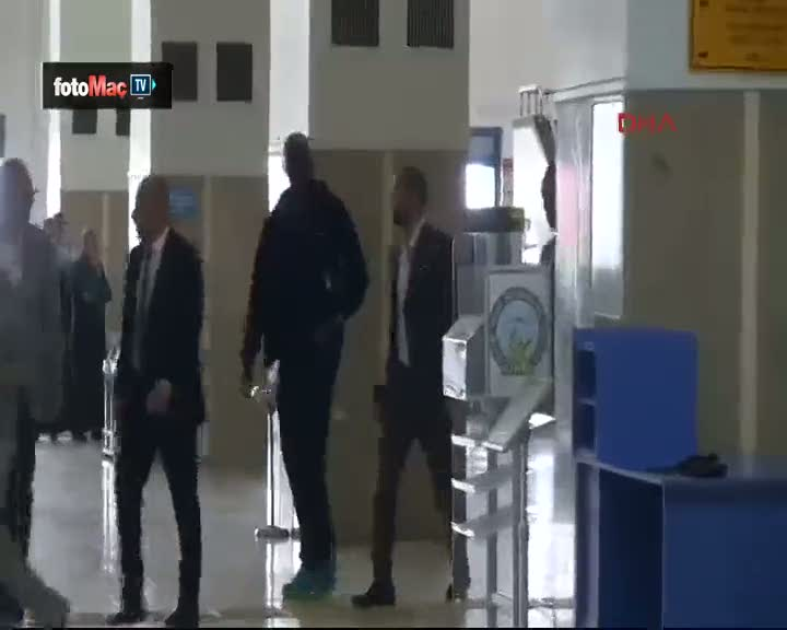 Trabzon'un yeni transferleri T�rkiye'ye geldi