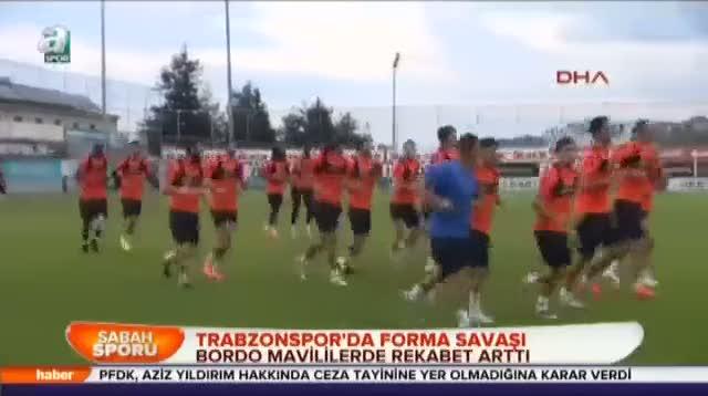 Trabzonspor'da forma sava��