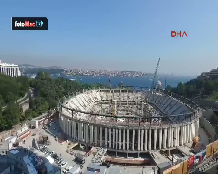 ��te Vodafone Arena'dan son g�r�nt�ler