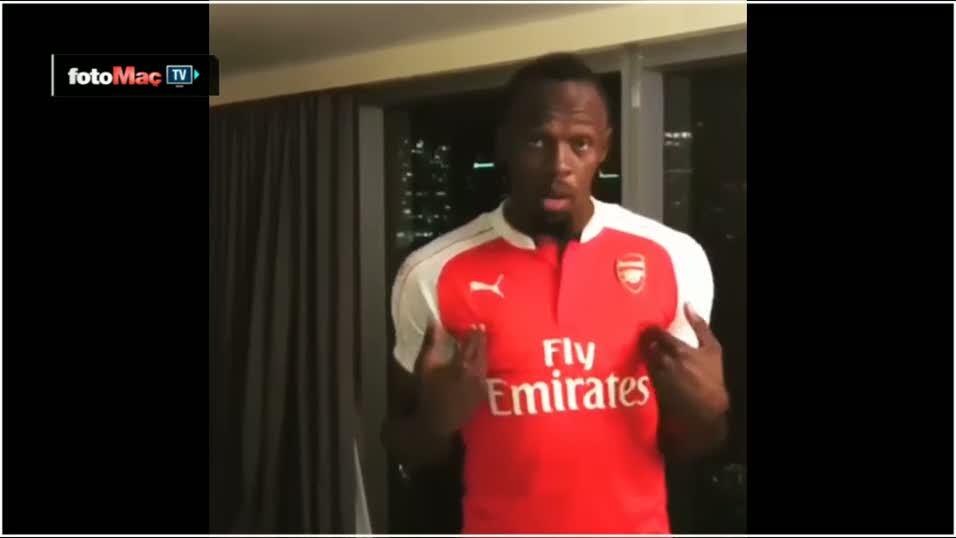 ManU'lu Usain Bolt o iddiay� kaybetti!
