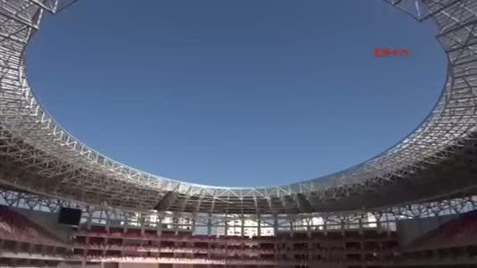 Yeni Antalya Stadı kapılarını açtı