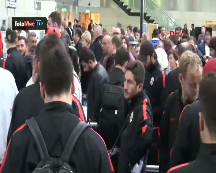 Galatasaray, Lizbon'a gitti