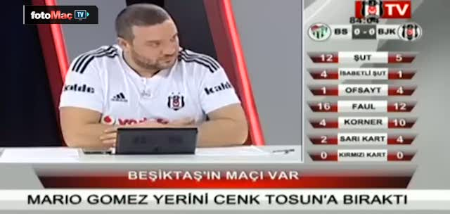 Bjk TV spikerinden ilgin� totem