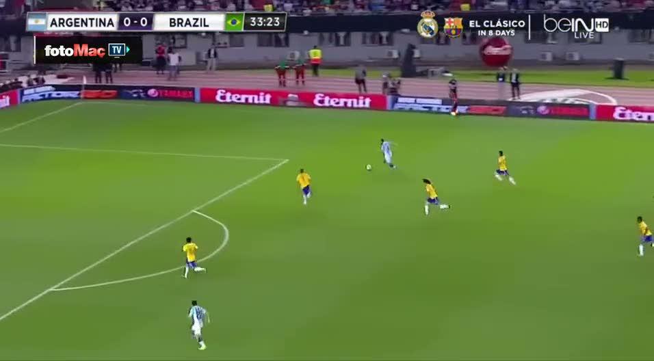 Lavezzi Brezilyal�lar� ��ld�rtt�!