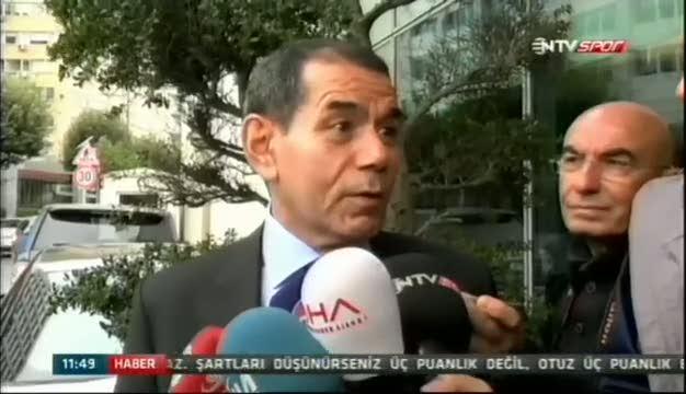Dursun �zbek'ten fla� Mustafa Denizli a��klamas�