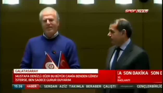"""Mustafa Denizli: """"�ok heyecanl�y�m"""""""