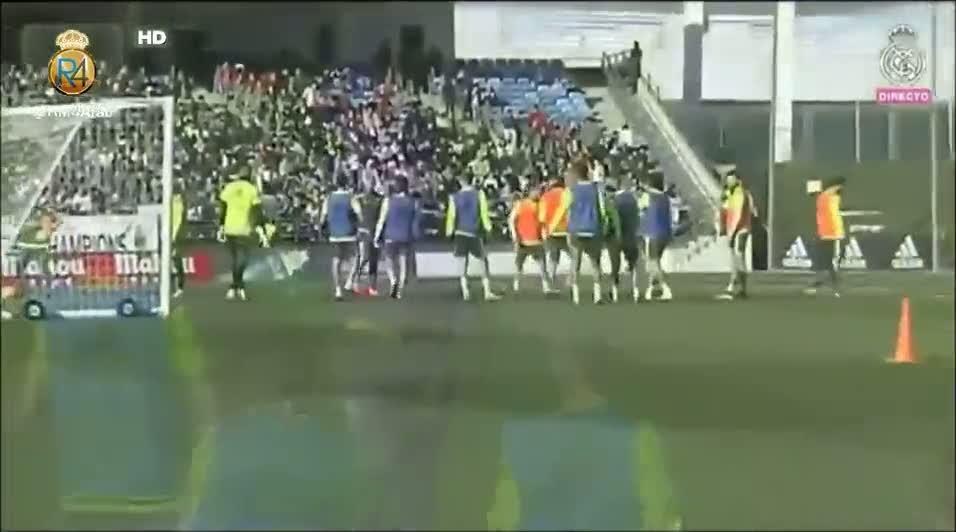 Zidane ilk antrenman�na ��kt�
