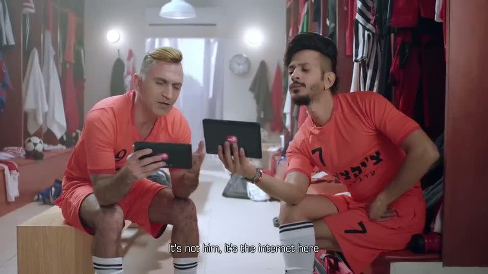 Ronaldo'nun olay yaratan reklam filmi