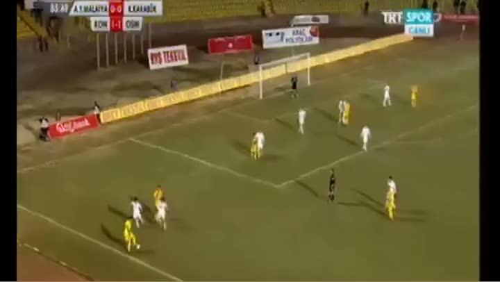 PTT 1. Lig'de inan�lmaz gol