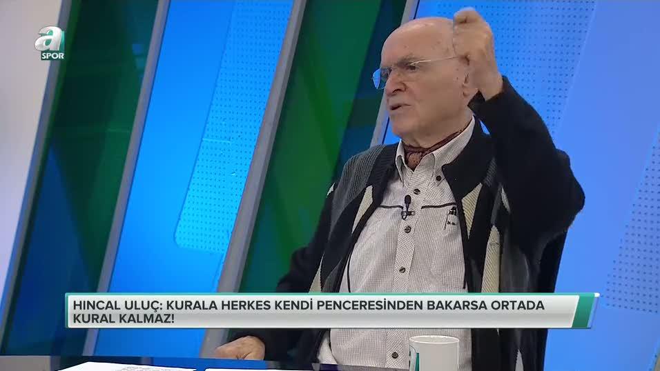 Hıncal Uluç, Salih Dursun'un pozisyonunu yorumladı