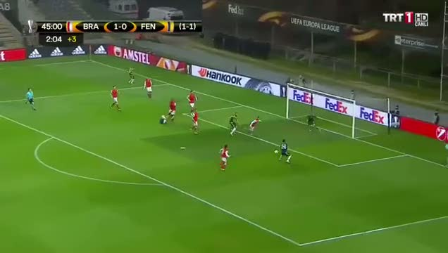Ersin D�zen: Bu gol hem Braga'ya hem de H�rvat hakeme