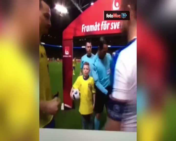 Ibrahimovic'ten Sivok'a tehdit