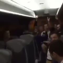 Fenerbahçe otobüsünde keyifli anlar