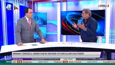 Erman Toro�lu'ndan penalt� yorumu