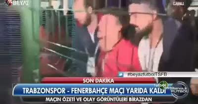 ��te Trabzon'u kar��t�ran taraftar!
