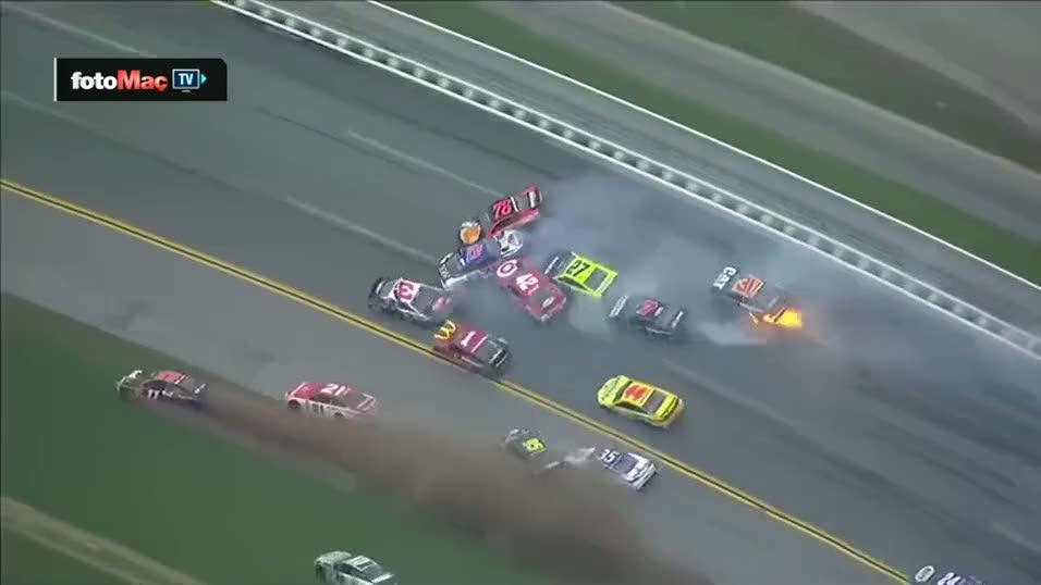 NASCAR'da sa�lam ara� kalmad�
