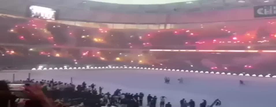 Vodafone Arena'da �ampiyonluk kutlamas�