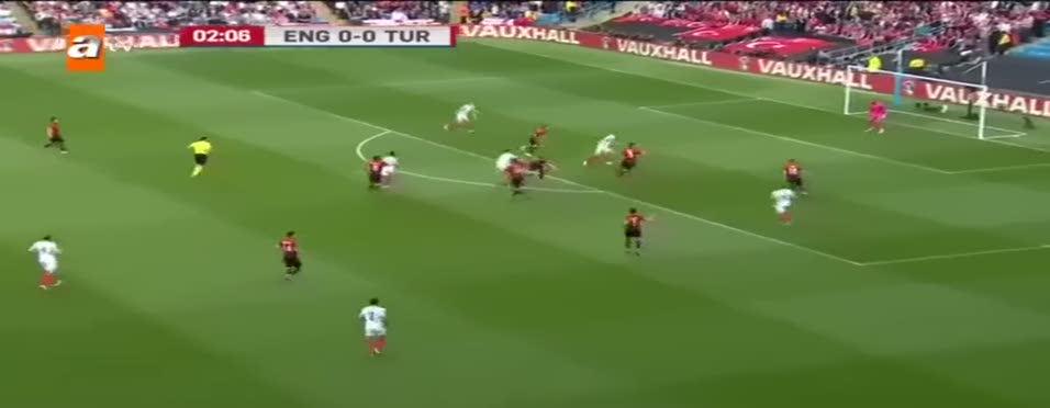 �ngiltere 1-0 Türkiye