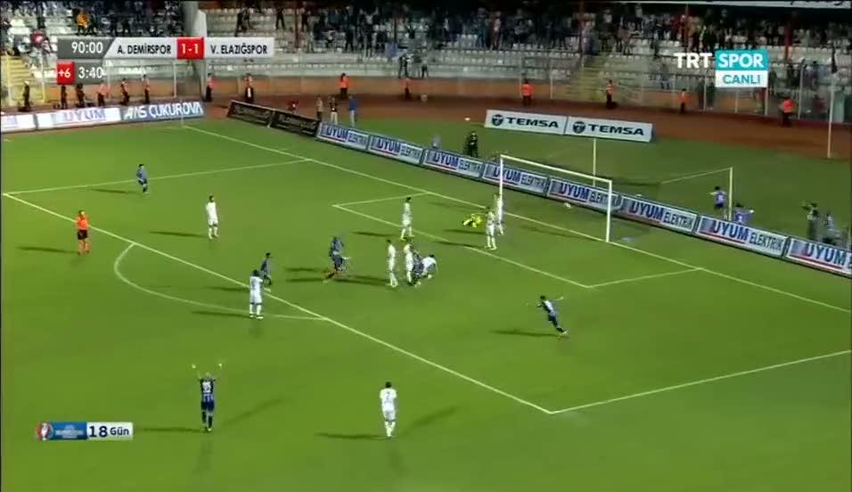 Adana Demirspor'a 90+4'te finali getiren gol