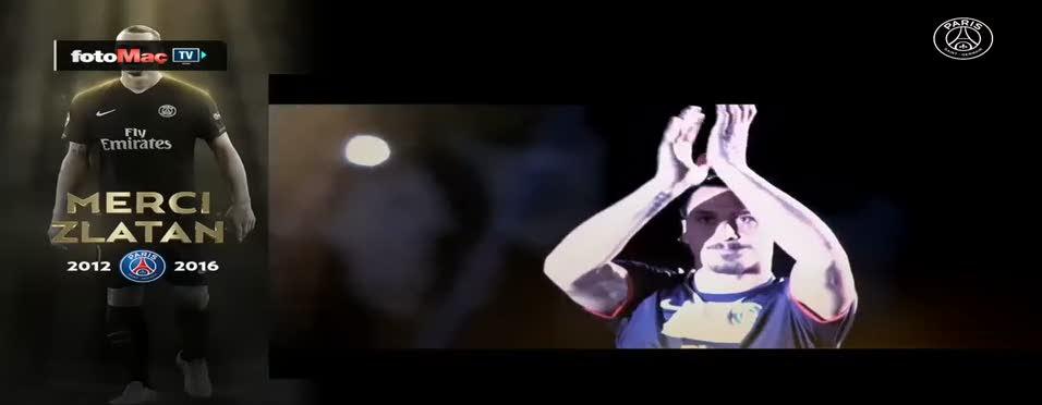 PSG'den Ibra'ya özel veda videosu