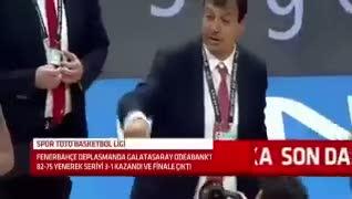 Obradovic'le Ergin Ataman aras�nda tart��ma